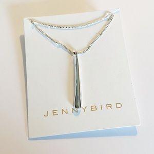NWT Jenny Bird silver Leana layered pendant